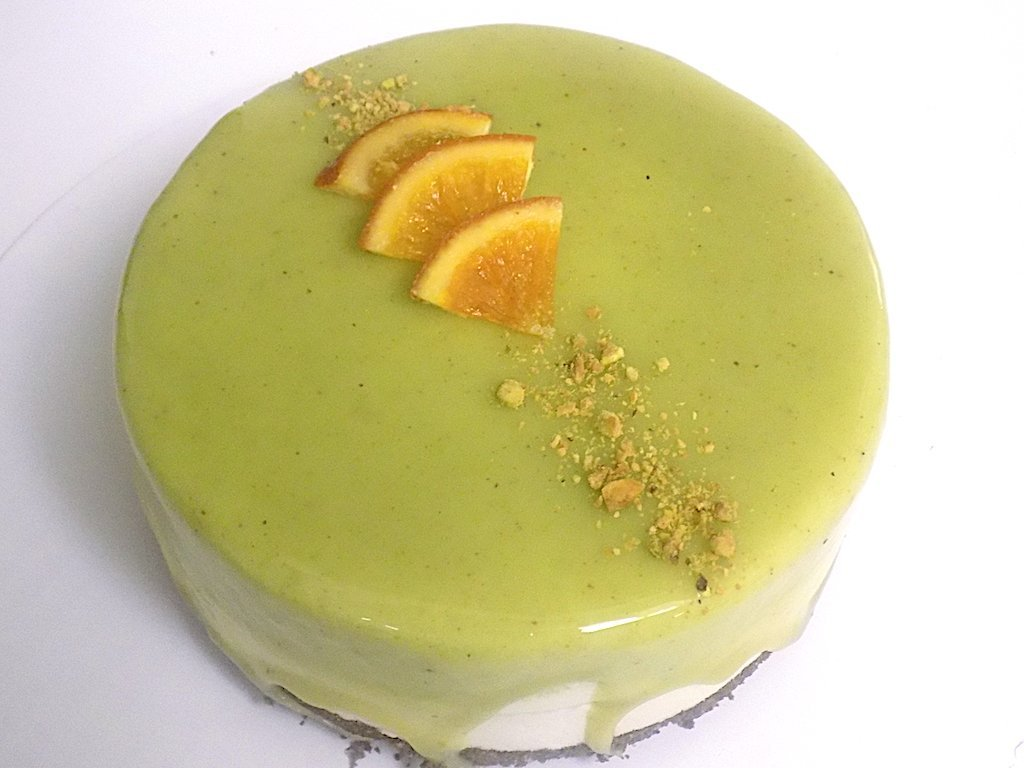 Pistachio and Ricotta Cake