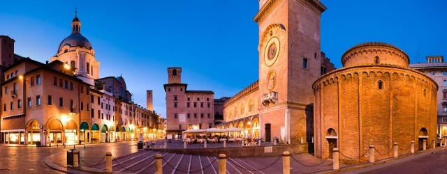 Piazza Mantegna – Mantua (Italy)