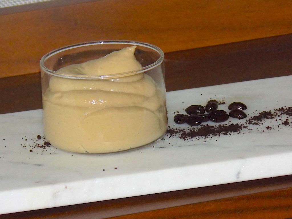 Vanilla Coffee Mousse Spoon Dessert