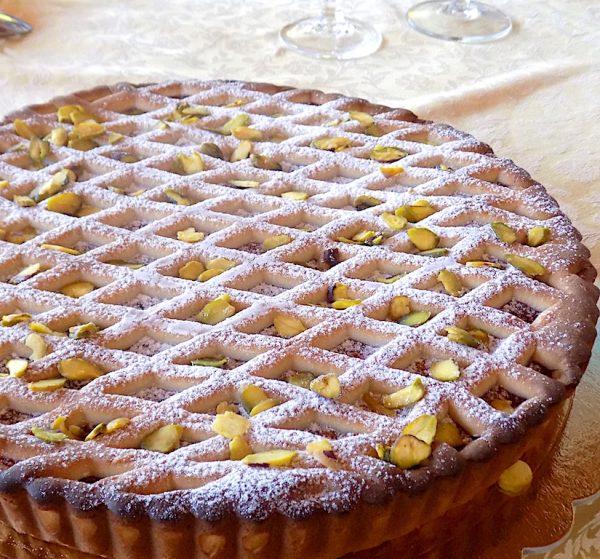 The Best Sicilian Watermelon Tart (Crostata di Anguria)