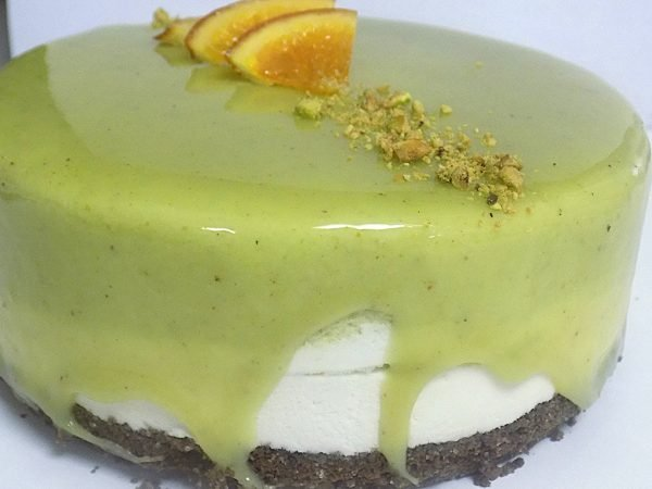 Pistachio and Ricotta Cake