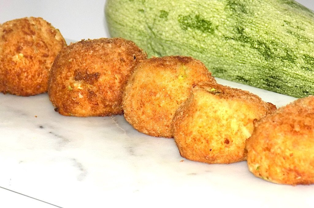 Delicious Fried Zucchini Balls