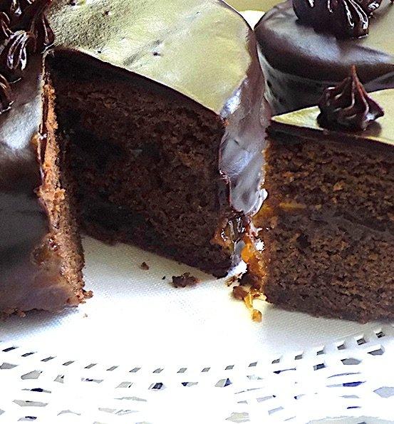 Mini Sacher Cake Solo-Dolce's Recipe