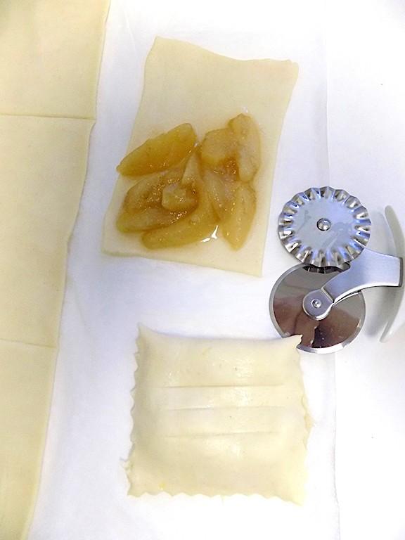 Sfogliatine with Marsala Caramelized Pears