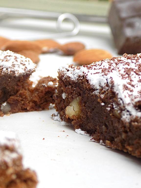 Almond Cake with Modica Chocolate