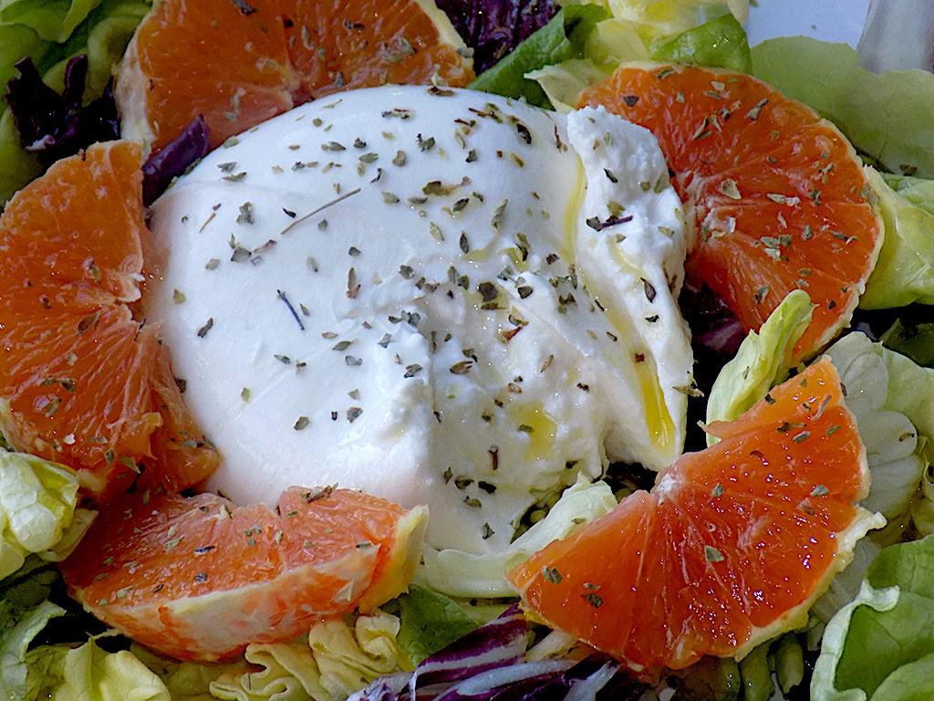 10-Minute Salad Prep with Burrata and Oranges
