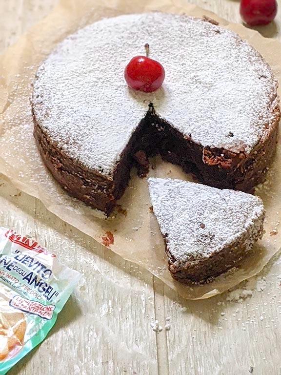 Chocolate Cherry Bomb Cake