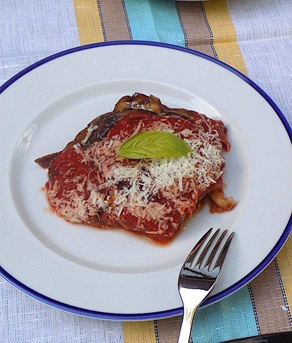 Original Eggplant Parmigiana Recipe