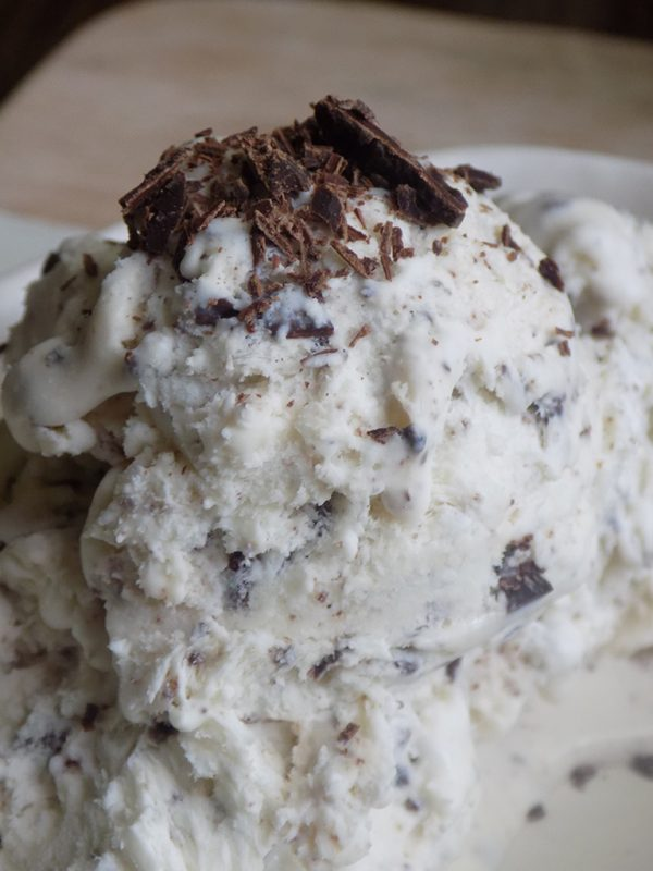 Amazing Stracciatella Gelato without Ice Cream Maker