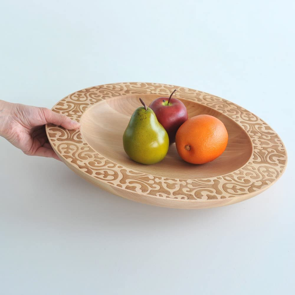 """Alessi""""Dressed in wood"""" Centerpiece"""