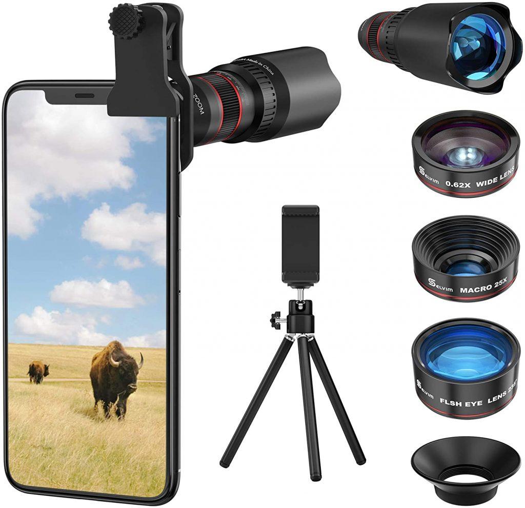 Selvim Cell Phone Camera Lens