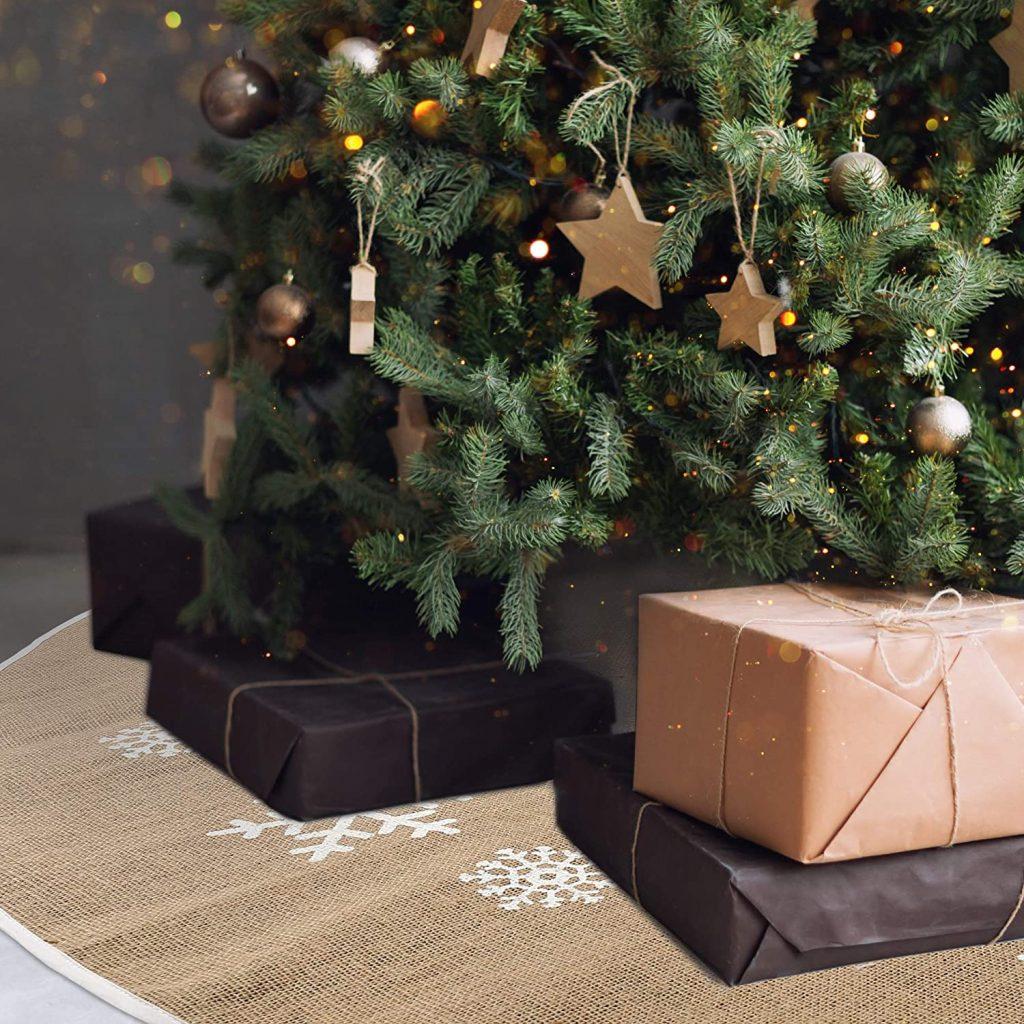 Fancy Christmas Tree Skirt