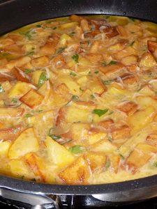 Potato Frittata, Nonna Recipe