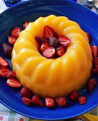 My Aunt Loredana's Mandarin Pudding