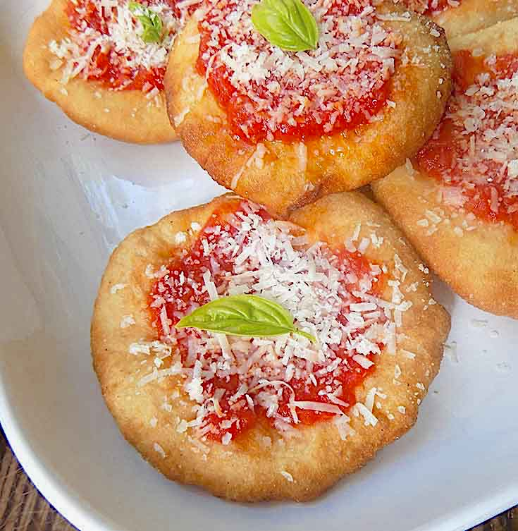 Fried Pizzette – Indelible Memory