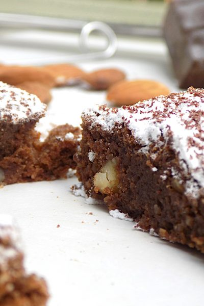 Almond Cake with Modica Chocolate