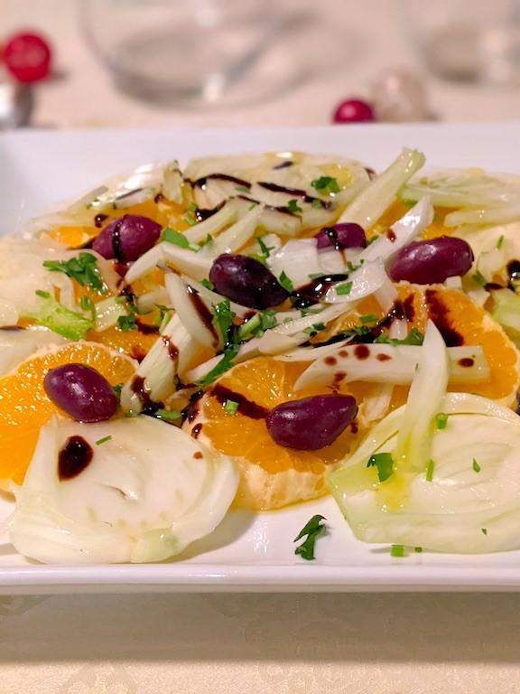 Sicilian Orange Salald