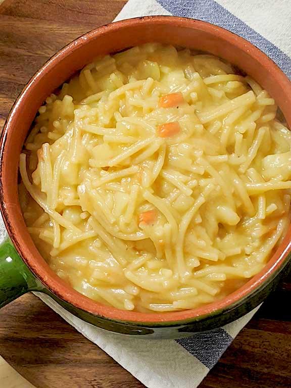 Pasta and Potatoes, Nonna's Recipe