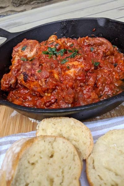 The Original Tuscan Recipe: Pollo alla Cacciatora
