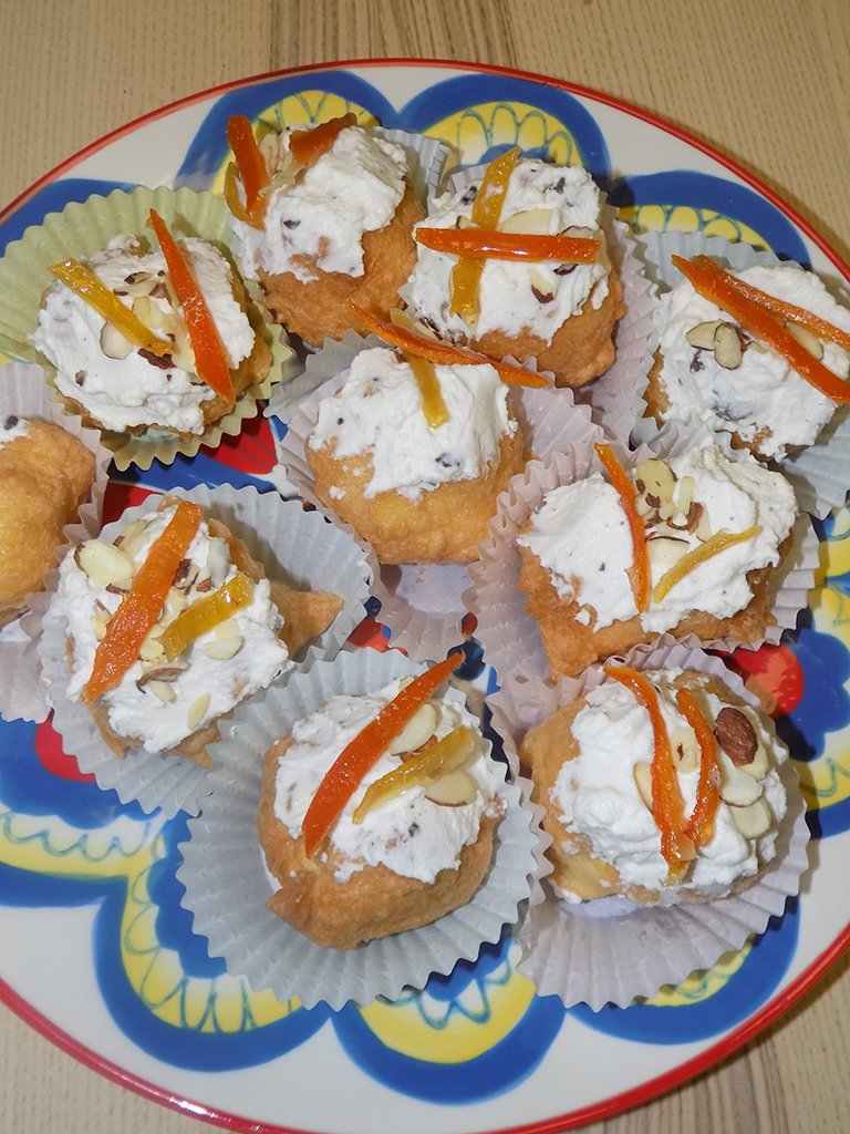 Sfince di San Giuseppe for Father's Day