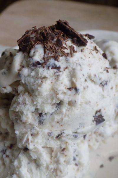 Amazing Stracciatella Gelato without Ice Cream Maker
