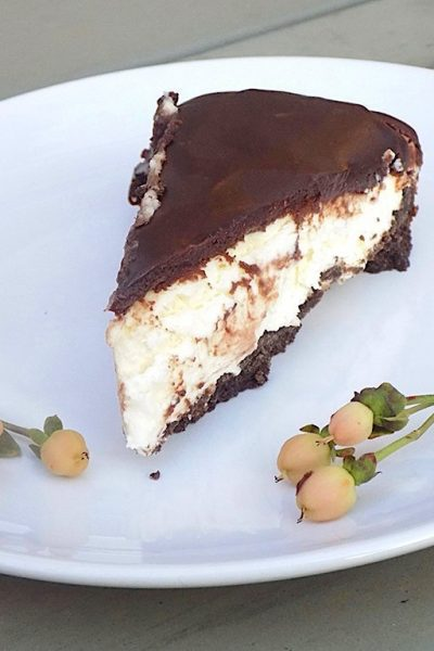 Cheesecake with Ricotta, Mascarpone and White Chocolate