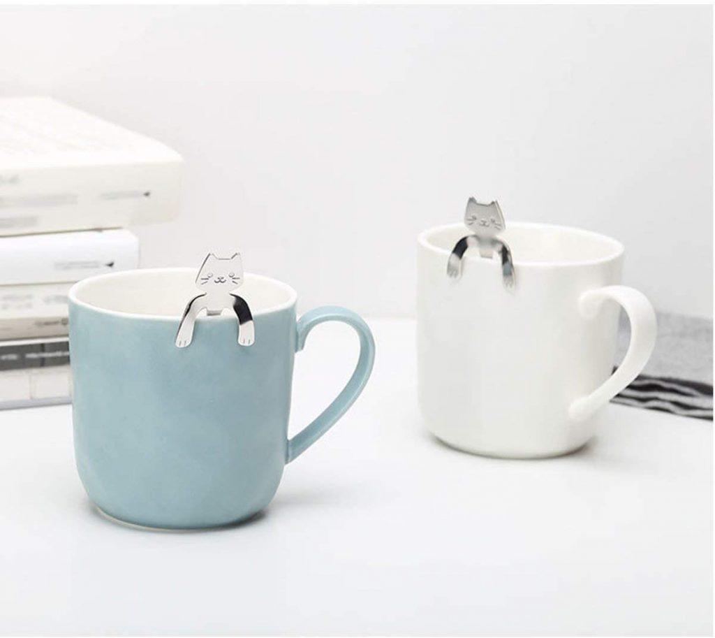 BingGoGo Cute Cat, Coffee Spoon,Tea spoon