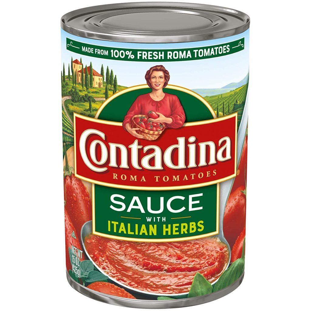 Canned Roma Tomato Sauce