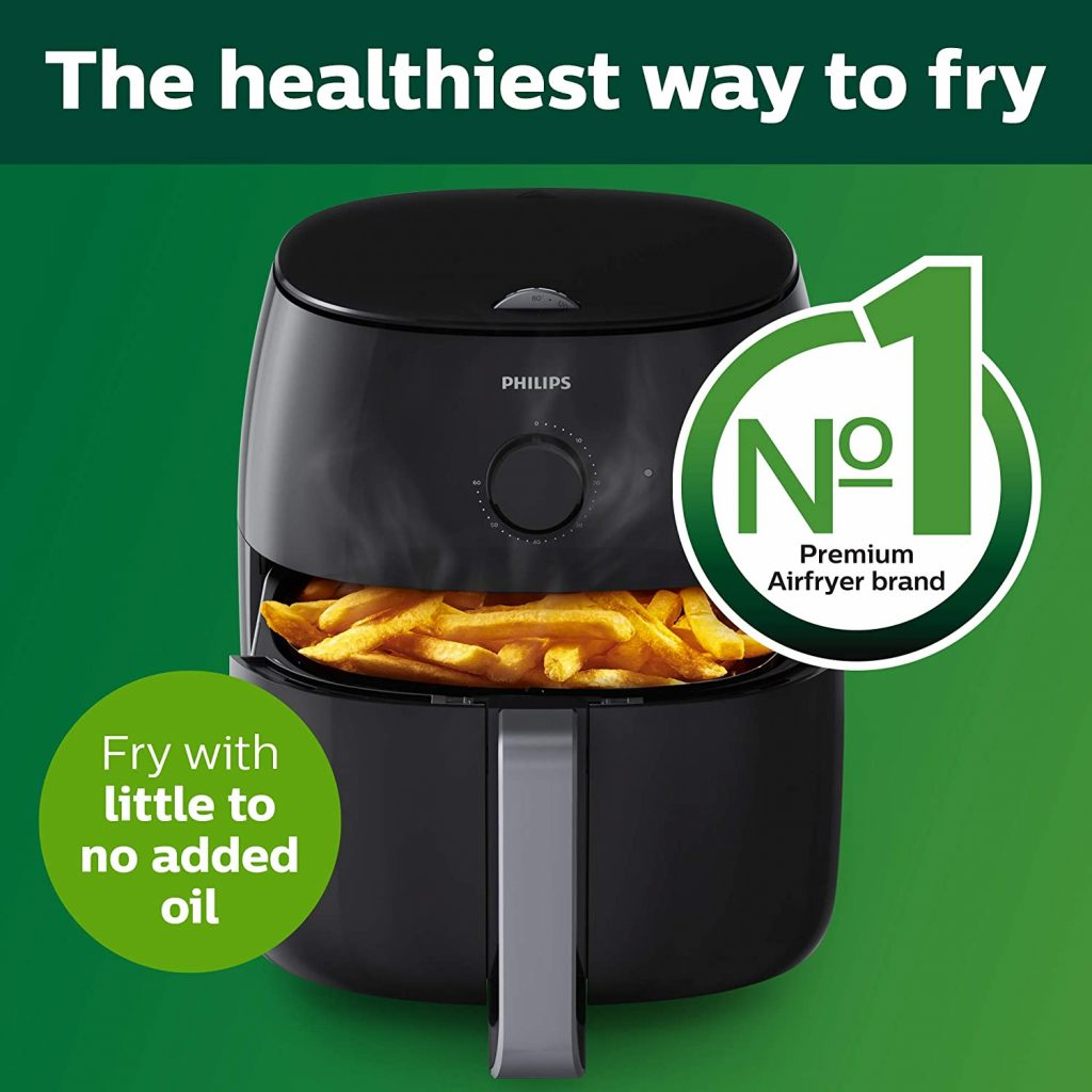 Airfryer XXL with Fat Removal Technology