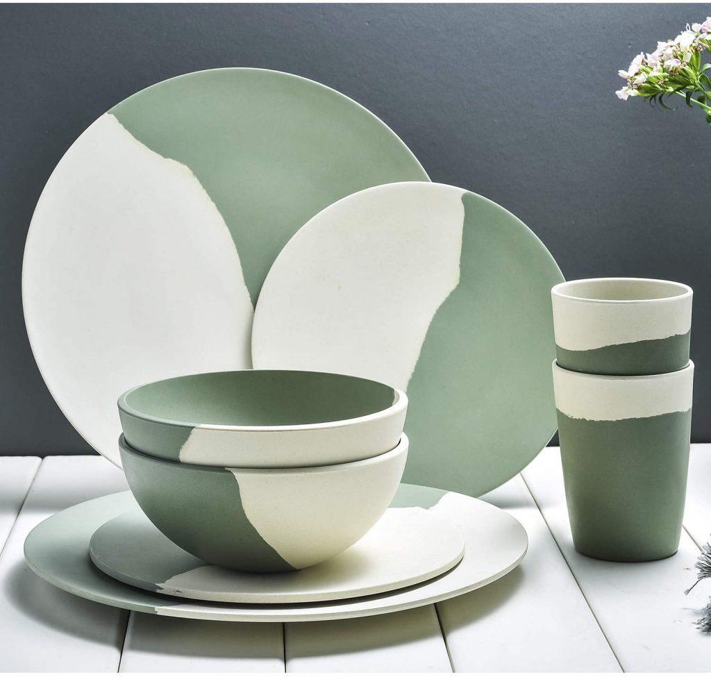 Bamboo Dinnerware Set