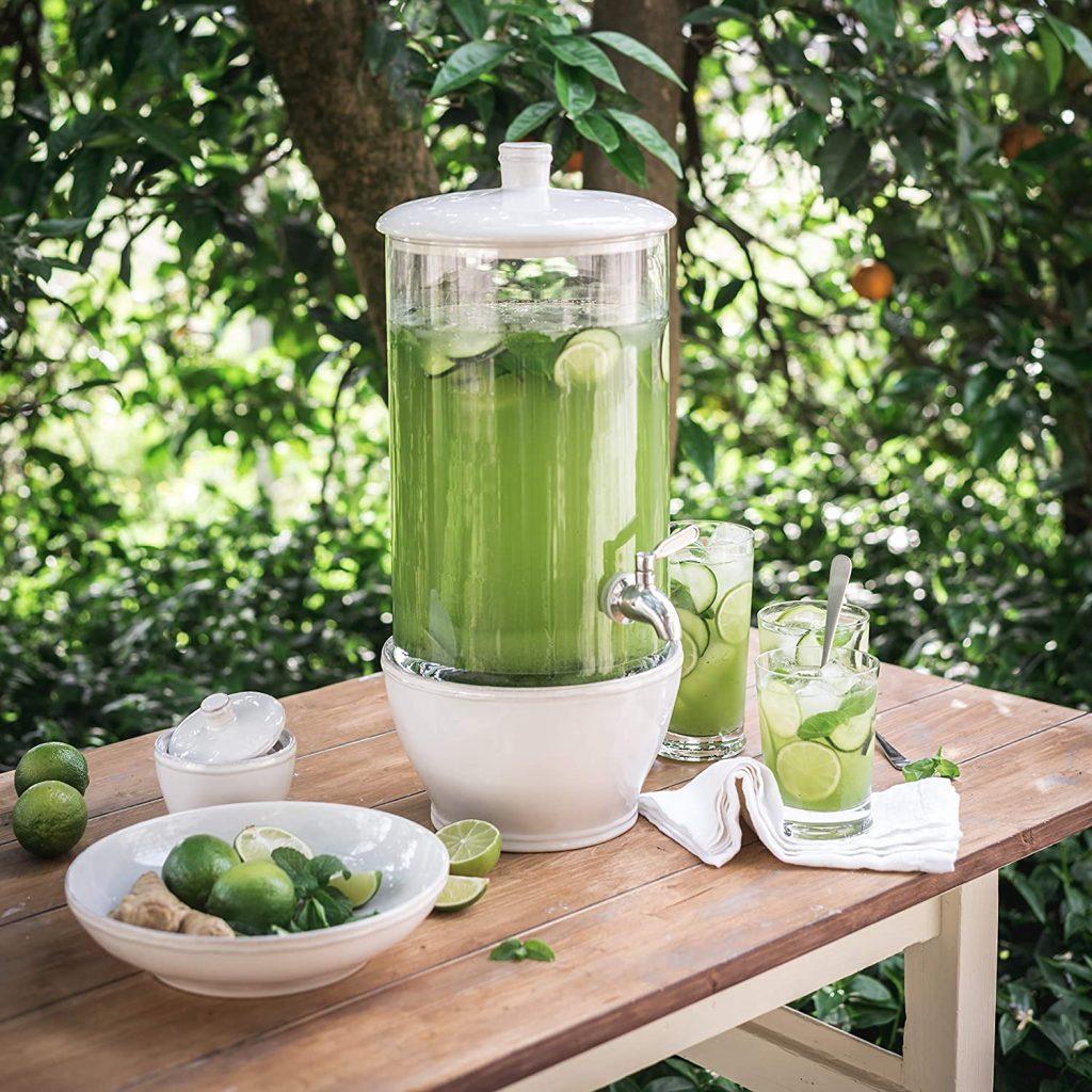 Ceramic Glass Drink Dispenser