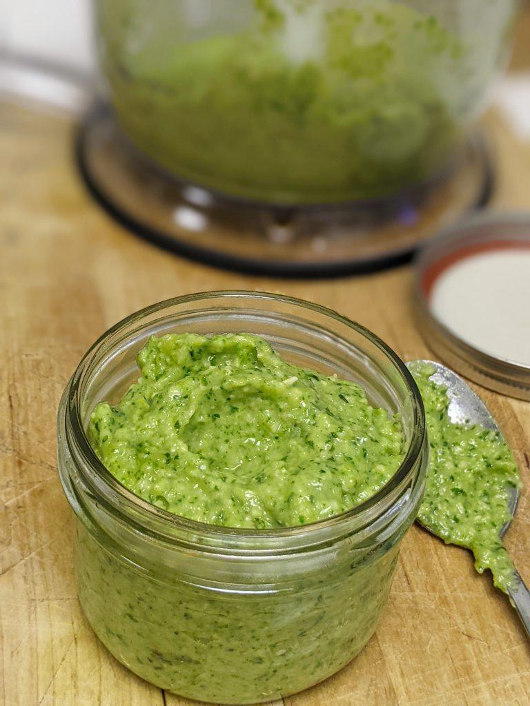 Zucchini Pesto: delicious and easy to make